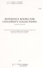 Cover of: Reference Books for Children's Collections |