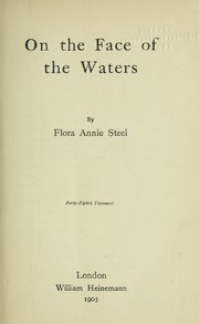 Cover of: On the face of the waters