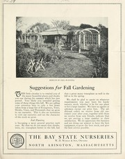 Cover of: Suggestions for fall gardening