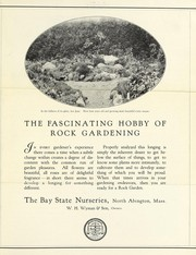 Cover of: The fascinating hobby of rock gardening