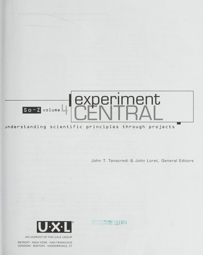 Experiment Central by John Loret