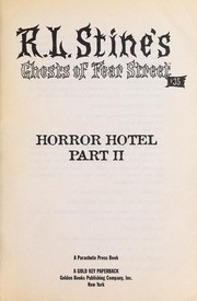 Cover of: Horror Hotel, Part II: Ghost in the Guest Room