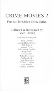 Cover of: Crime Movies II (Famous Television Crime)