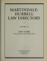 Cover of: Martindale-Hubbell Law Directory