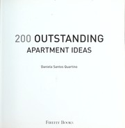 Cover of: 200 outstanding apartment ideas | Ian Ayers