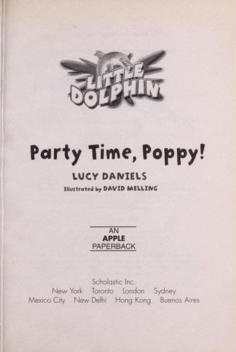 Party time, Poppy! by Lucy Daniels