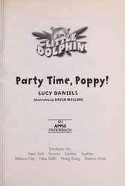 Cover of: Party time, Poppy! | Lucy Daniels
