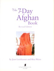 Cover of: The 7-day afghan book