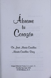 Cover of: A breme tu corazo n | Jose  Mari a. Casillas