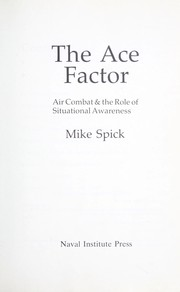 The ace factor by Mike Spick