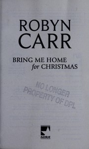 Cover of: Bring me home for Christmas