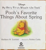 Cover of: Pooh's favorite things about spring