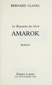 Cover of: Amarok