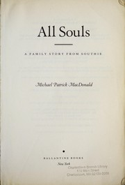 Cover of: All souls