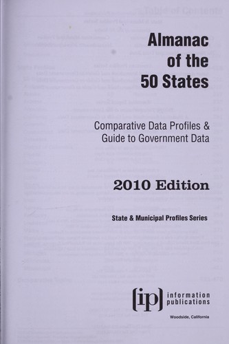 Almanac of the 50 states by