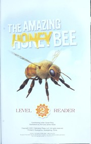 Cover of: The amazing honey bee | Susan Ring