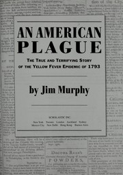 Cover of: An American plague