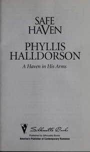 Cover of: A haven in his arms | Phyllis Halldorson