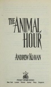 Cover of: The animal hour