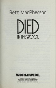 Cover of: Died in the wool