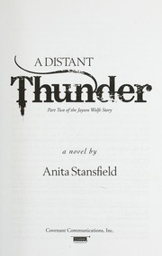 Cover of: A distant thunder