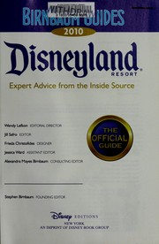 Cover of: Birnbaum guides 2010 Disneyland resort