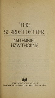 Cover of: The scarlet letter
