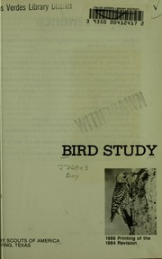 Cover of: Bird study | Boy Scouts of America