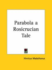 Cover of: Parabola a Rosicrucian Tale