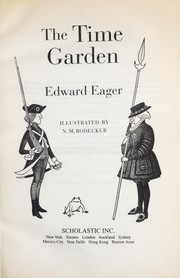 Cover of: The time garden