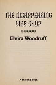 Cover of: The disappearing bike shop