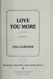 Cover of: Love you more