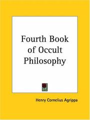 Cover of: Fourth Book of Occult Philosophy