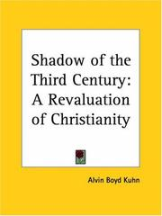 Shadow of the Third Century by Alvin Boyd Kuhn