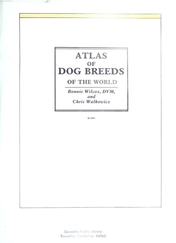 Atlas of Dog Breeds of the World by