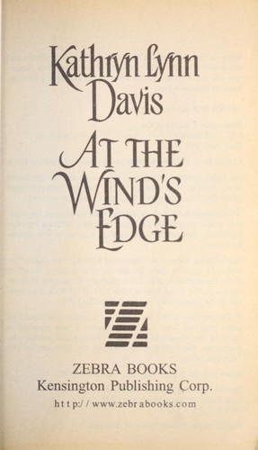 At the wind's edge by Kathryn Lynn Davis