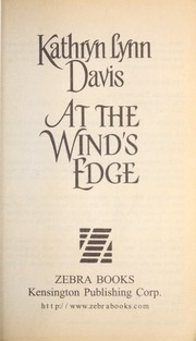 Cover of: At the wind's edge | Kathryn Lynn Davis