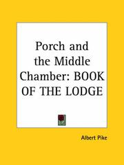 Cover of: Porch and the Middle Chamber