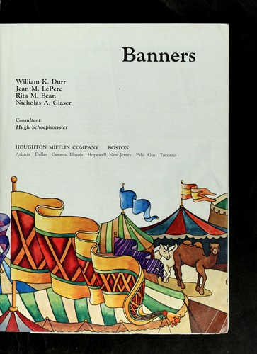 Banners (Level L) by William K. Durr