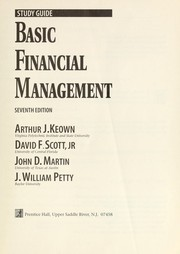 Cover of: Basic financial management