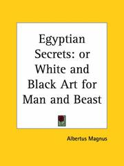 Cover of: Egyptian Secrets