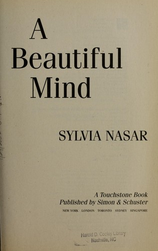 A Beautiful Mind Book Cover : A beautiful mind the life of mathematical genius and