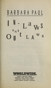Cover of: In-laws and outlaws