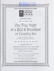 Cover of: Bed & breakfasts and country inns