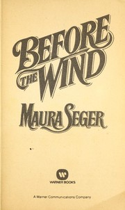 Cover of: Before the wind