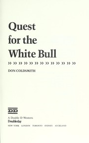 Cover of: Quest for the white bull