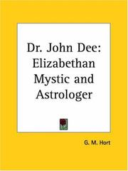 Cover of: Dr. John Dee