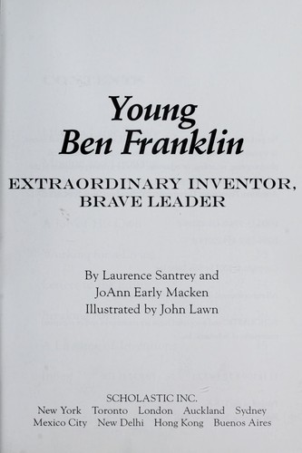 Young Ben Franklin by Laurence Santrey
