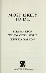 Cover of: Most likely to die