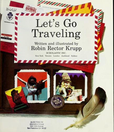Let's go traveling by Robin Rector Krupp